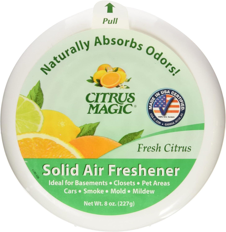 Citrus Magic Fresh Citrus Absorb Odor Solid Air Freshener, 8 Oun