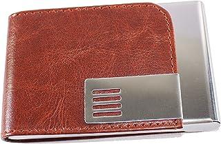 Msa Jewels Presents Combo Set of Pen & Cardholder (Brown)