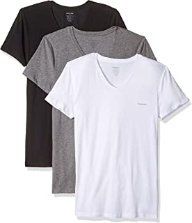Diesel Men's Umtee-michael3pack V-Neck T-Shirt