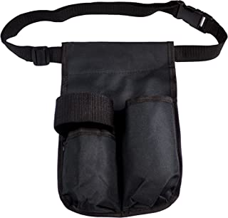 Body Linen, mas:bhdb, Double Bottle Holster for Massage, Black