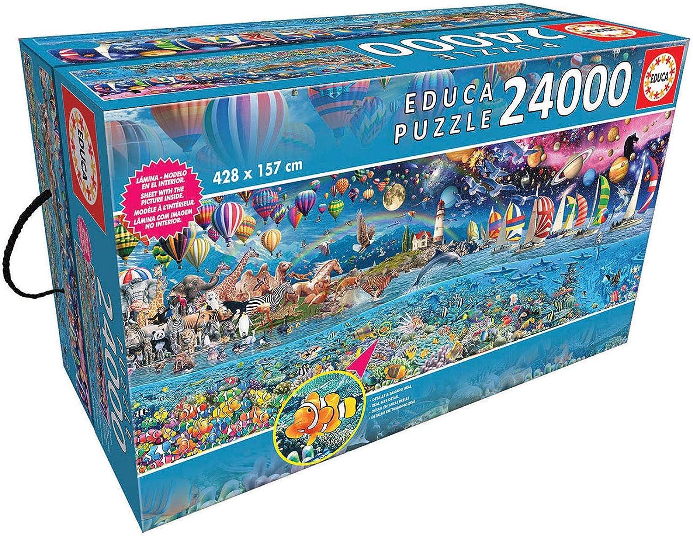 Educa Borras Life, The Greatest 24,000 Piece Puzzle
