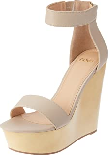 Novo Women's High Heel Platform Wedges