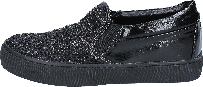 SARA LOPEZ Wedges-Sandals Womens Black