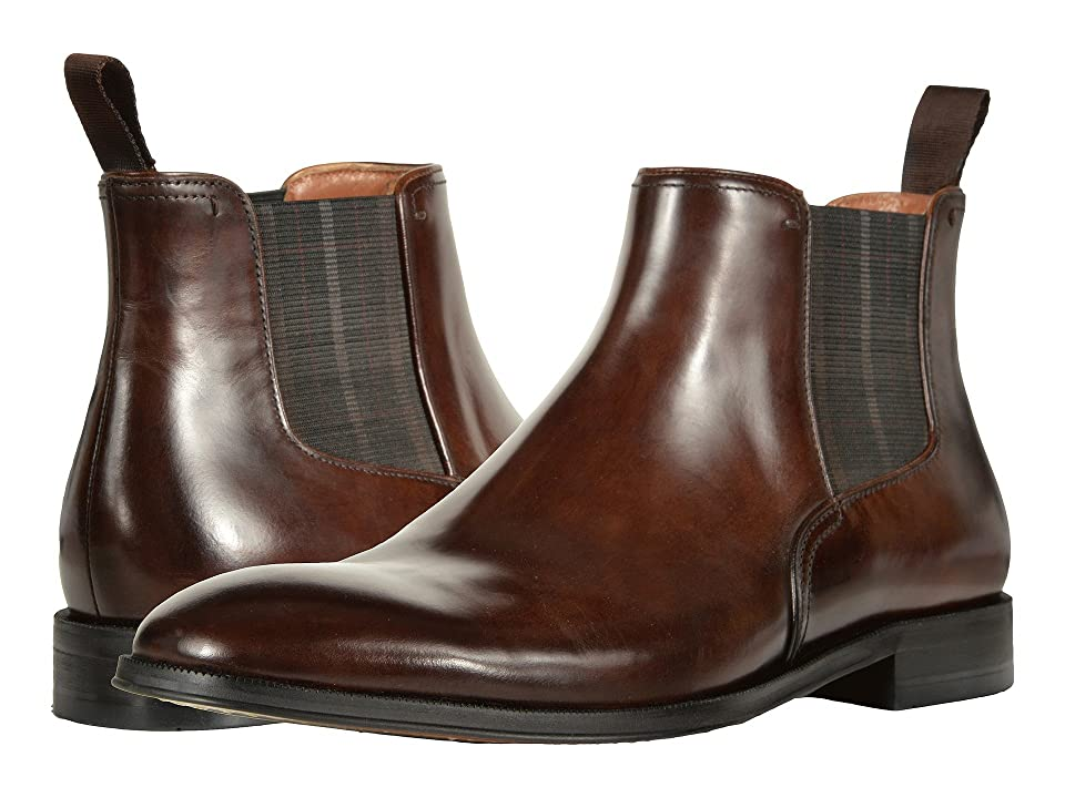 Florsheim Belfast Plain Toe Gore Boot (Brown Smooth) Men
