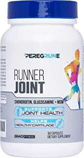 Runner Knee & Joint Support | Joint & Cartilage Health - Engineered with TRI-Joint Complex of Glucosamine, Chondroitin, and MSM | Help Restore Runner Joints and Builds Cartilage | GMP Certified