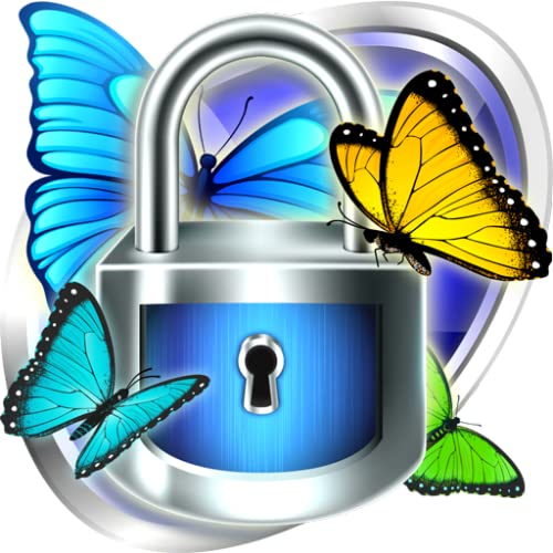 Smart App Schloss Schmetterling Thema