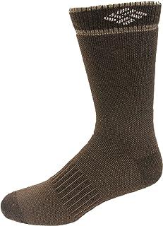 Columbia mens Men's Birdseye Texture Wool Blend Boot Crew Socks - 2 Pairs
