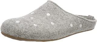 HAFLINGER Felt Slipper | Everest Noblesse, Stone Gray