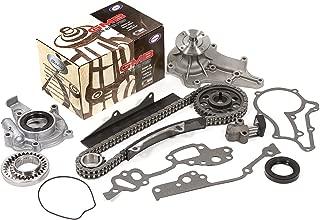 Evergreen TK2001WOP Fits Toyota 20R Timing Chain Kit Water Pump Oil Pump