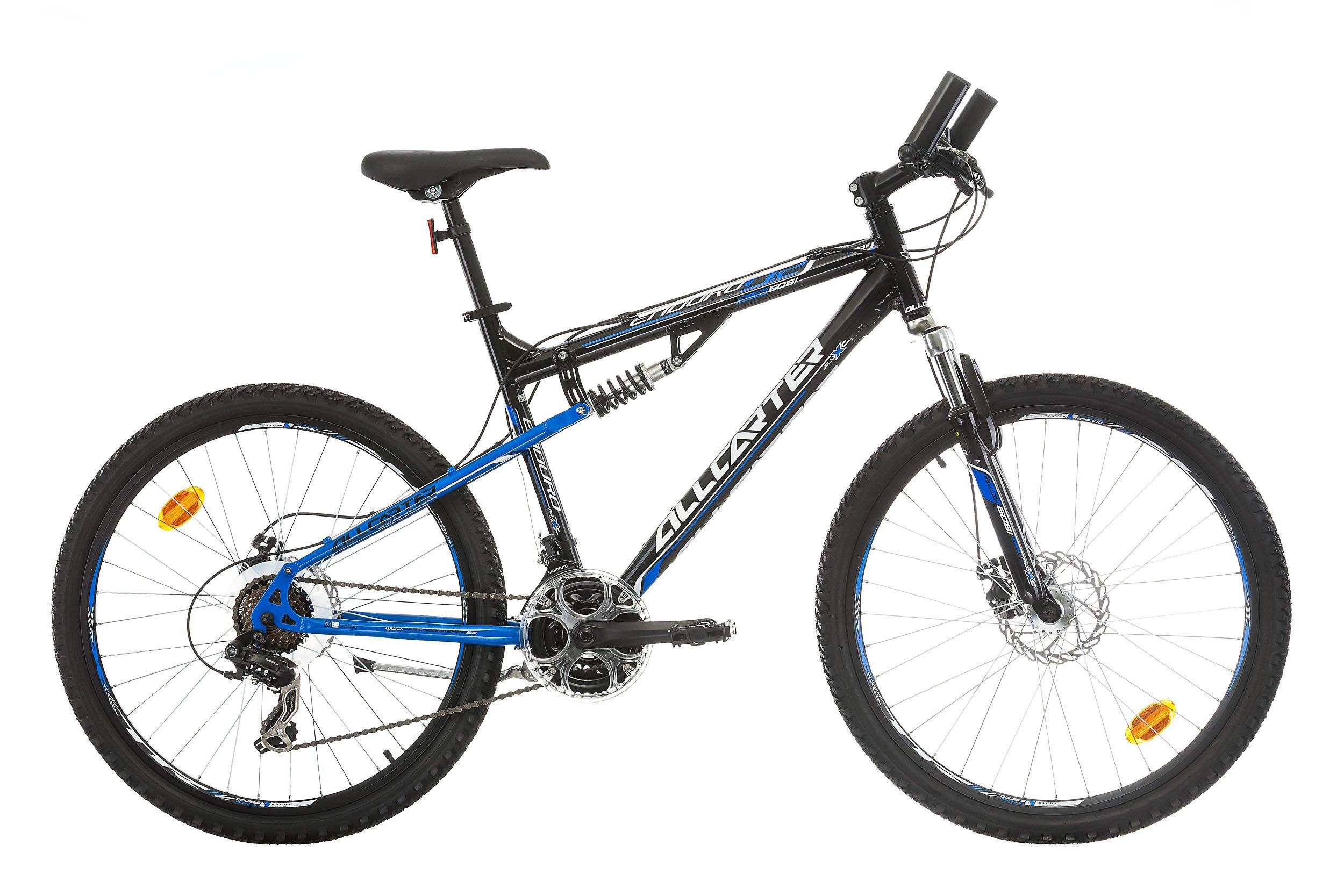 Allcarter ENDURO Bicicleta de montaña con doble suspensión, Tamaño ...