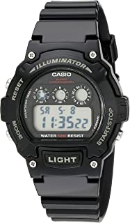 Casio Kids W-214HC-1AVCF Classic Digital Display Quartz...