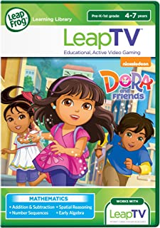 Leapfrog Leaptv Nickelodeon Dora and Friends Educational, Active Video Game 80-39156E Educational Toy