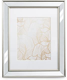 11x14 Mirrored Picture Frame - Matted to 8x10, Frames by EcoHome