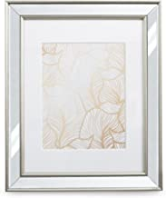 8x10 Picture Frame Mirrored - Matted for 5x7 Photo Frames by EcoHome