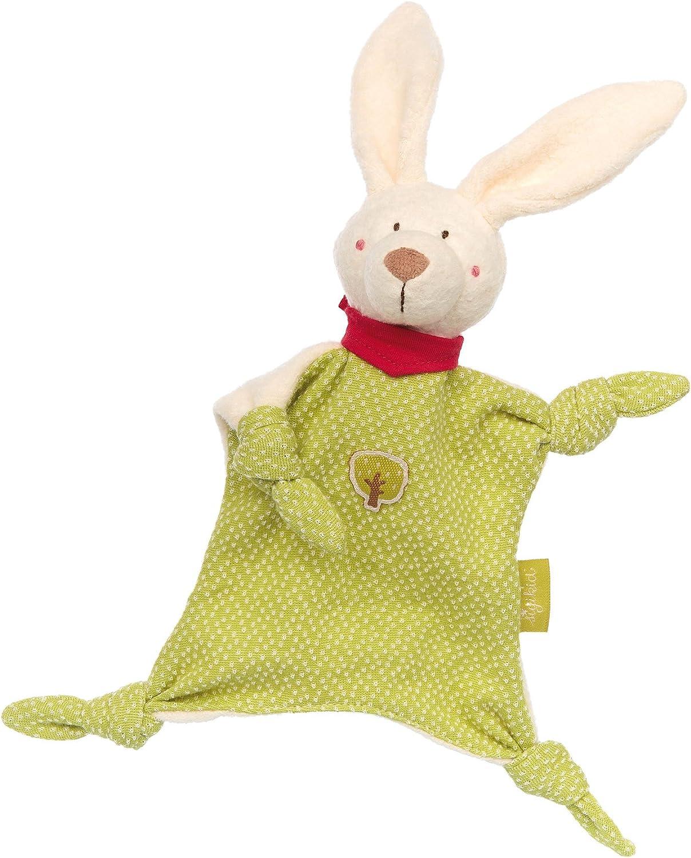 Sigikid Sigikid41803 23.50 X 24 X 6.50 Cm  Green Bunny  Comforter (Small)
