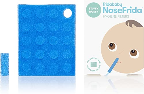 NoseFrida Nasal Aspirator Hygiene Filters 20 Piece,