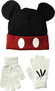 Disney Classics Mickey Mouse Winter Beanie & Glove Set