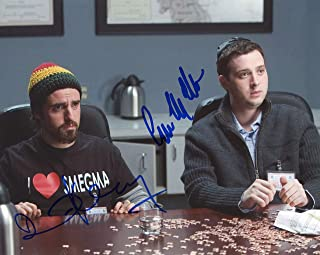 "David Krumholtz & Eddie Kaye Thomas""Harold & Kumar"" AUTOGRAPHS Signed Photo ACOA"