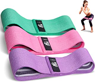 Resistance Bands Set of 3 for Legs and Butt Workout...