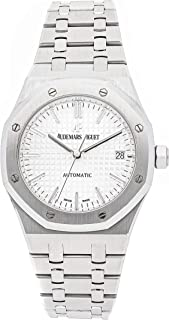 Royal Oak Automatic Silver Dial Stainless Steel Unisex Watch 15450ST.OO.1256ST.01
