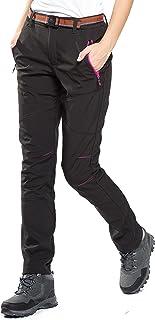 HAINES Pantalones de Montaña Mujer Invierno Pantalon