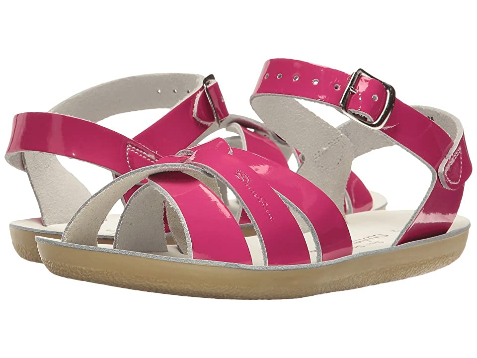 Salt Water Sandal by Hoy Shoes Sun-San Swimmer (Toddler/Little Kid) (Shiny Fuchsia) Girls Shoes