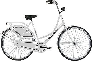 Hollandia Royal Dutch Bicycle, Single Speed, 26 inch X 19 inch, White