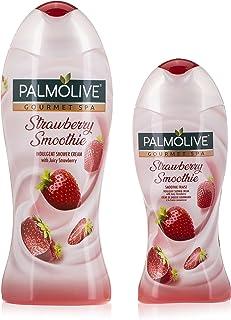 Palmolive Shower Gel Cream Gourmet Spa Strawberry, 500ml + 250ml