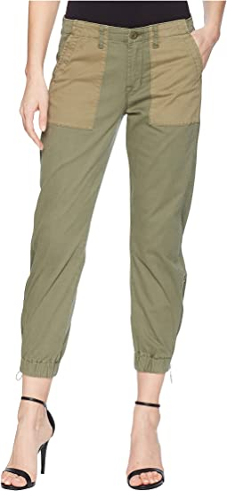 Jaclyn Flight Pants in Olive Remix
