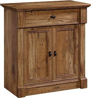 Sauder Palladia Entryway Storage, L: 34.45 x W: 18.35 x H: 35.98, Vintage Oak