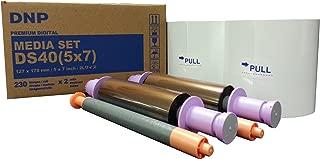 DNP DS40 5x7 Photo Paper Media - 460 Total Prints (DS405X7z)