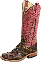Anderson Bean 4236M Bronze Big Bass Pepto Antique Tooled Square Toe Boots