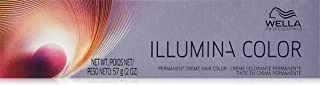 Wella Illumina Permanent Creme Hair Color, 9/03 Very Light Blonde/Natural Gold, 2 Ounce