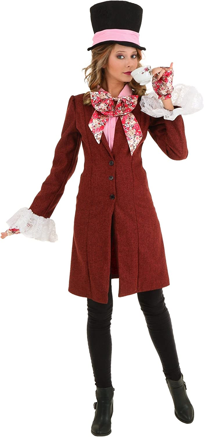 Deluxe Max 56% OFF Women's Mad Costume Hatter Max 55% OFF