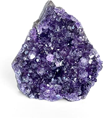 Deep Purple Project Amethyst Rock Crystal (250 Grams to 500 Grams) Raw Clusters from Uruguay Quartz Geode