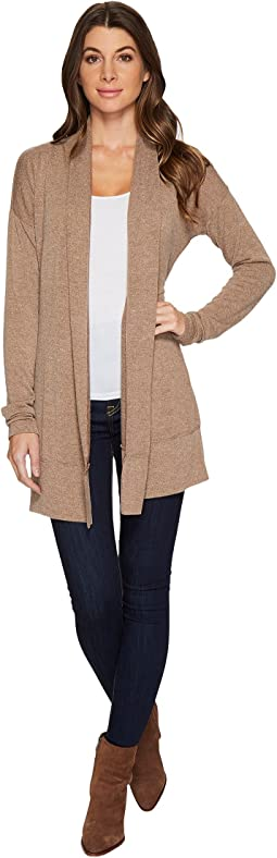 Mod-o-doc - Luxe Sweater Knit Crossover Back Cardigan