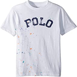 Polo Ralph Lauren Kids Paint-Splatter Cotton T-Shirt (Big Kids)