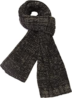 CityComfort Men Knitted Scarf Softer than Cashmere Wool Touch Plaid Solid