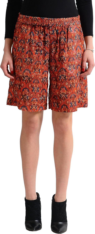 Just Cavalli Women's Multicolor Silk See Through Shorts US S IT 40