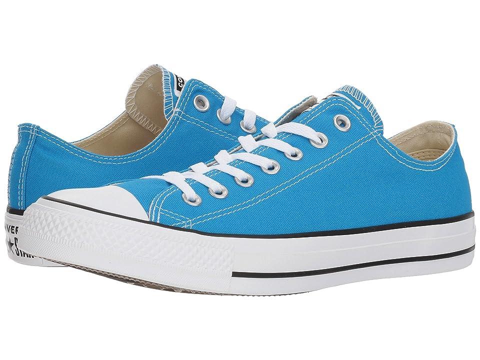 Converse Chuck Taylor All Star Seasonal Ox (Blue Hero) Athletic Shoes