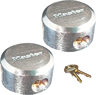 Master Lock Pro Series Hidden Shackle Padlocks, Keyed Alike 6271NKA-2 w/BumpStop Technology