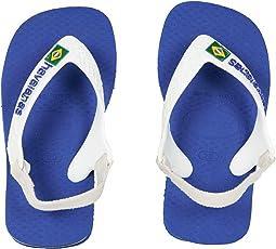 Havaianas Kids Baby Brazil Logo Flip-Flop (Toddler)