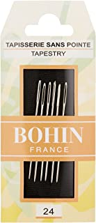 Bohin Tapestry Hand Needles , Size 24 6/Pkg