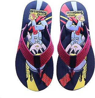 Aravon Boy's and Girl's Slip on Slipper Flip Flop ( Multi Colour)