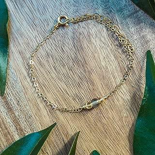 Dainty Crystal Citrine Bracelet in 14k Gold Fill - November Birthstone