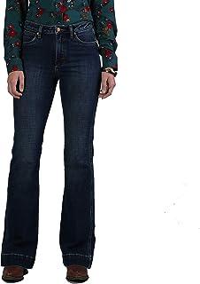 Wrangler Women's Retro Five Pocket High Rise Trouser Jean