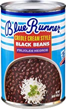 Blue Runner Creole Cream Style Black Beans 16 Ounce (Pack of 12)