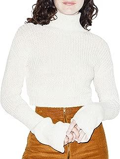 Women's Fisherman Bell Sleeve Sweater