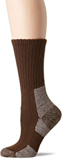 Thorlos Women's Thick Padded Trail Hiking Socks, Crew, Chestnut, Medium (Womens's Shoe Size 7.0-9.0)
