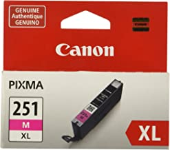 Canon CLI-251XL Magenta Ink Tank Compatible to MG6320 ,...